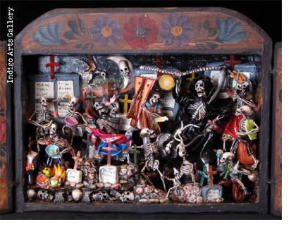 Day of the Dead retablo