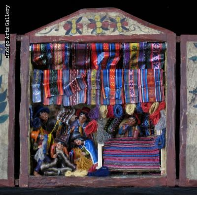 Weaving Shop Retablo (medium)