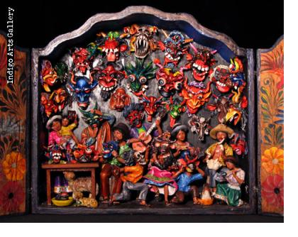 Mask Shop Extra Large Retablo