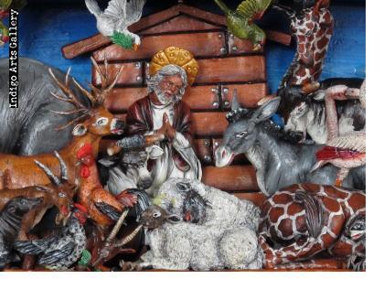 Noah's Ark Retablo