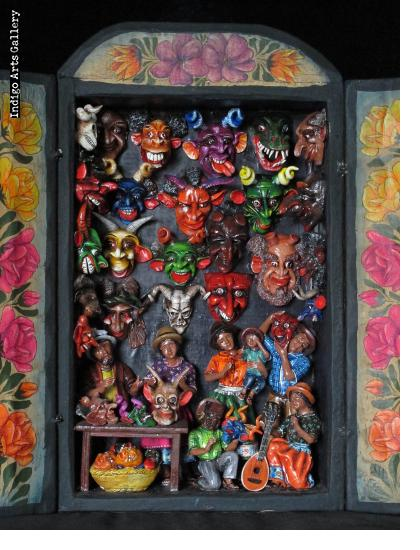 Mask Shop Retablo (version 6)