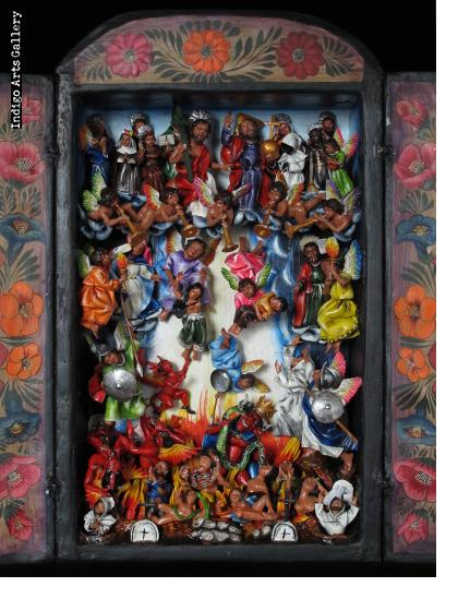 Juicio Final (The Final Judgement) Retablo
