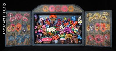 Flower Shop - Retablo
