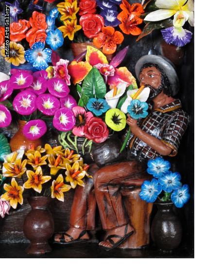 Flower Shop - Retablo