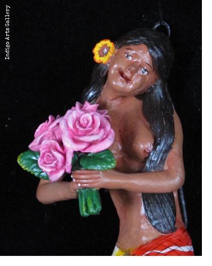 La Sirena (Mermaid) Retablo Ornament