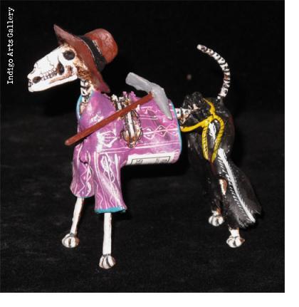Perros Muertos (skeleton dogs)