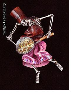 Skeleton Chef - Retablo figure