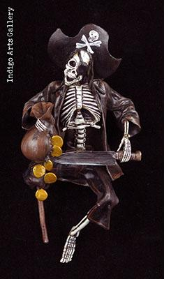 Skeleton Pirate - Retablo figure