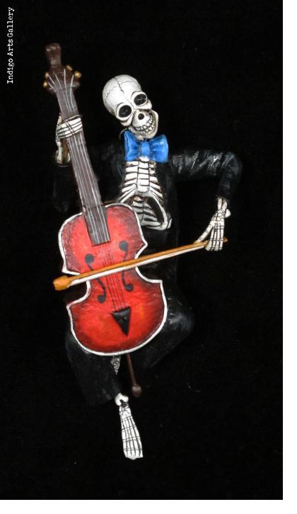 Musico Muerte - Retablo figure