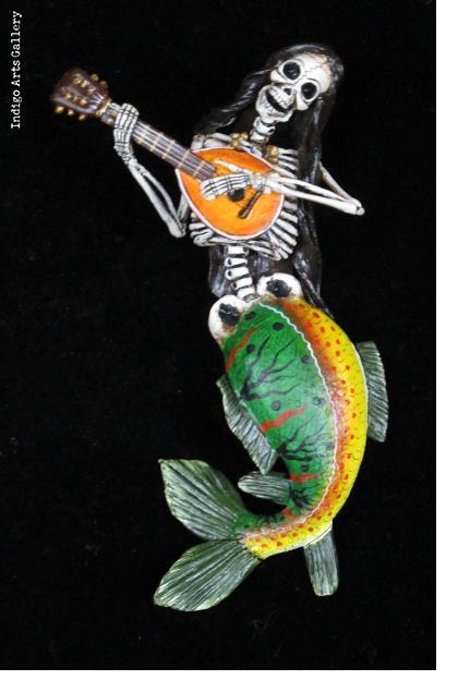 La Sirena Musica - retablo ornament