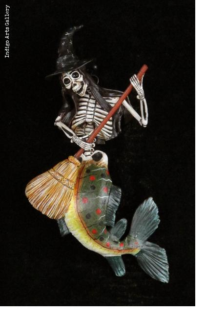 La Sirena Muerte - retablo ornament