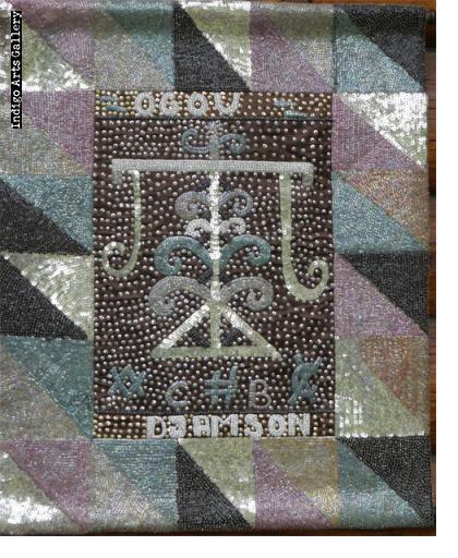 Ogou Djamson Vodou Banner