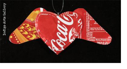 C*ca-C*la Winged Heart Ornament