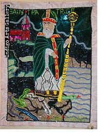 Saint Patrice (Dambala) Vodou Banner