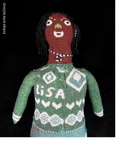 """""""Lisa"""" - Beaded Doll from Capetown"""