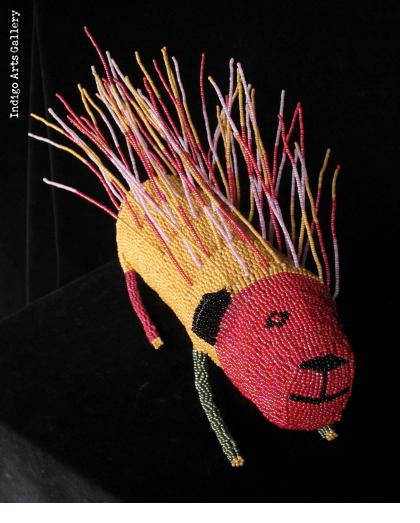 Large Beaded Porcupine from Capetown