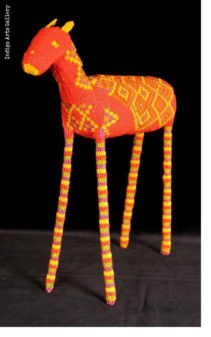 Beaded Horse/Zebra