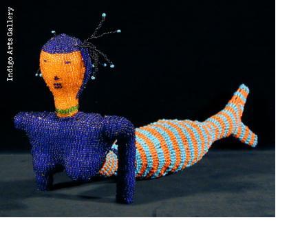 Beaded Mermaid Doll