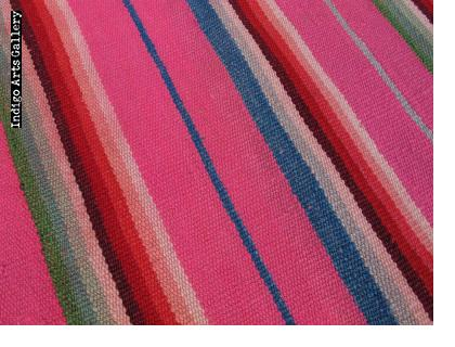 """Frazada"" Wool Blanket from the Highlands of Peru"