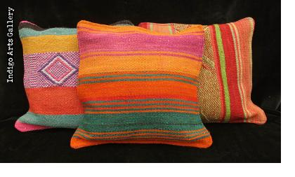 """Frazada"" Pillows from the Peruvian Highlands"