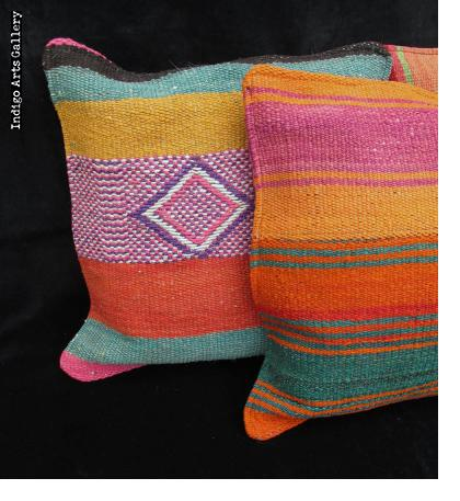 """Frazada"" Pillows from the Peruvian Highlands"