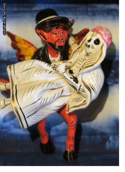 The Devil's Bride - retablo