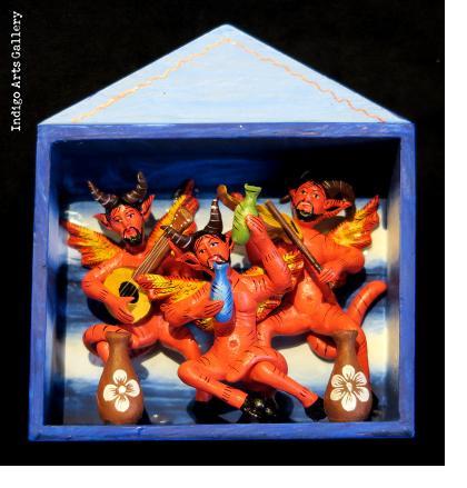 The Devil Party - retablo