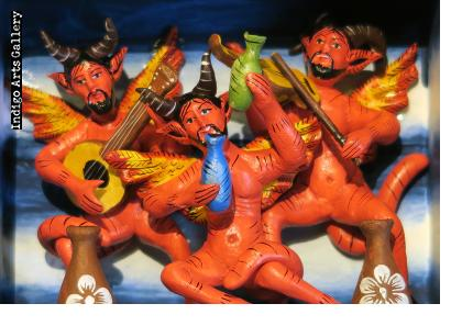 The Devil Party - retablo