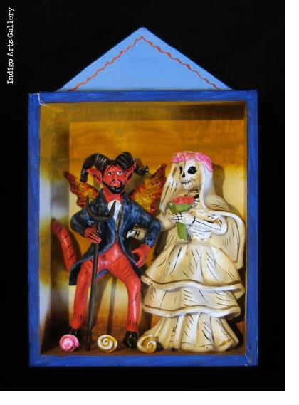 The Devil's Bride #2 - retablo