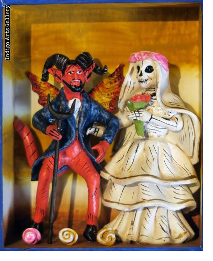 The Devil's Bride #2 - retablo