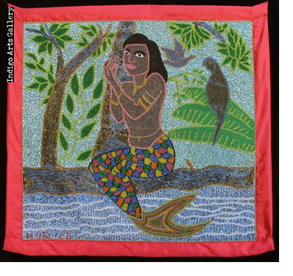 La Sirene at the Water's Edge Vodou Banner