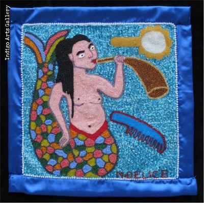 """La Sirene"" Vodou Flag"