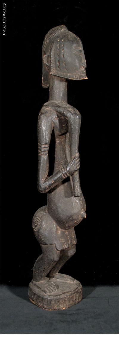 Dogon Man with Hoe