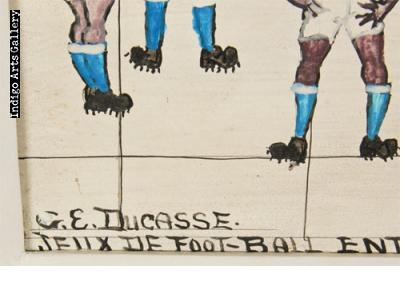 Jeux de Football Entre Deux Differentes Equipes; a Port-au-Prince