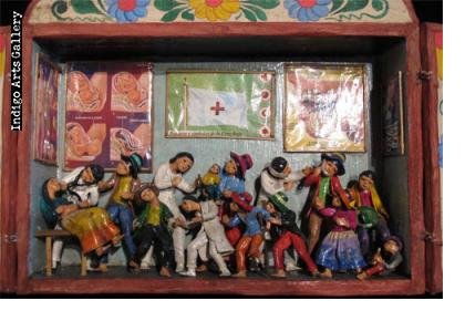 Doctor's Office - Retablo