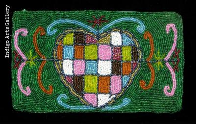 """Erzulie Freda"" Beaded Purse"