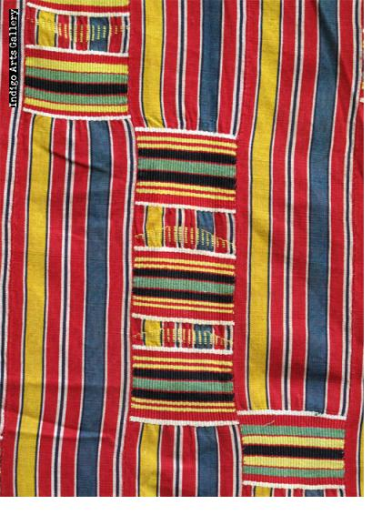 """Ewe Kente Cloth """"woman's wrap"""""""