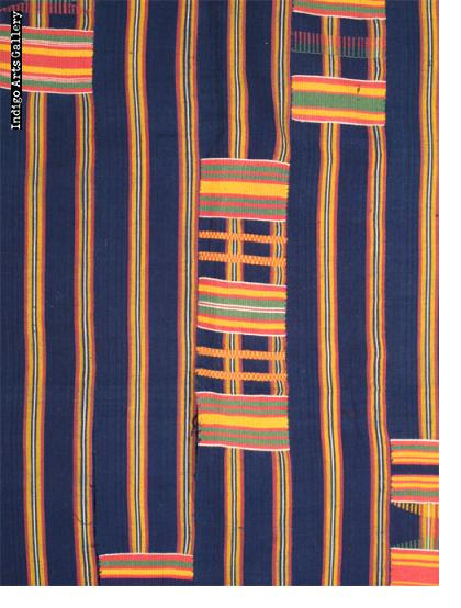 "Ewe Kente Cloth ""woman's wrap"""