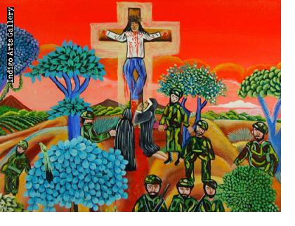Cristo Campesino Crucificado