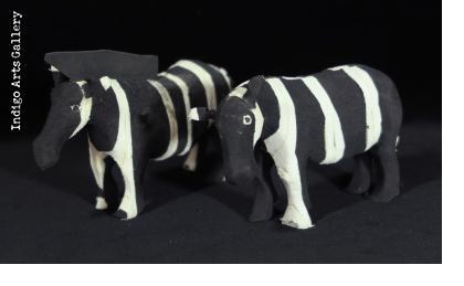 Small Flip-flop Zebra - black & white