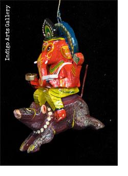 Ganesh Riding on Rat