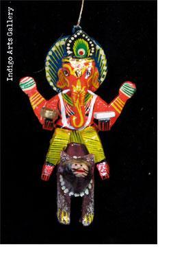 Ganesh Riding on Rat
