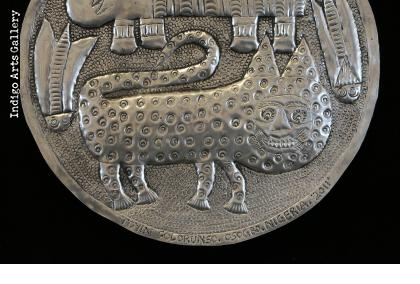 Kingdom of animals - Aluminum Relief Fan