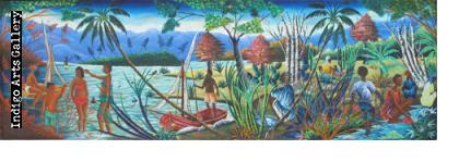 Gesner Abelard (Port-au-Prince, Haiti, b. 1922)