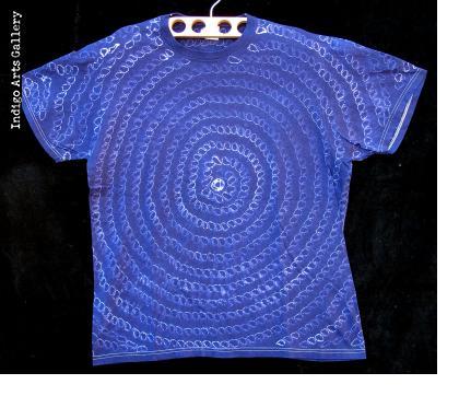 Indigo Tie-dye T-shirt by Gasali Adeyemo