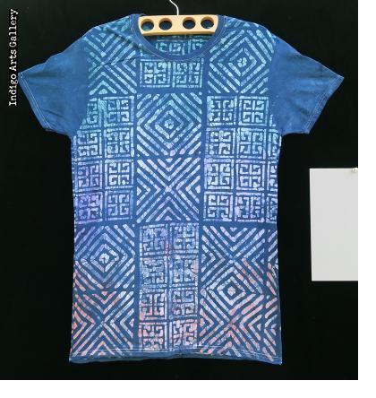 batik and indigo tie dye t shirts by gasali adeyemo of nigeria indigo arts. Black Bedroom Furniture Sets. Home Design Ideas