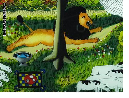 Lion among the Sheep