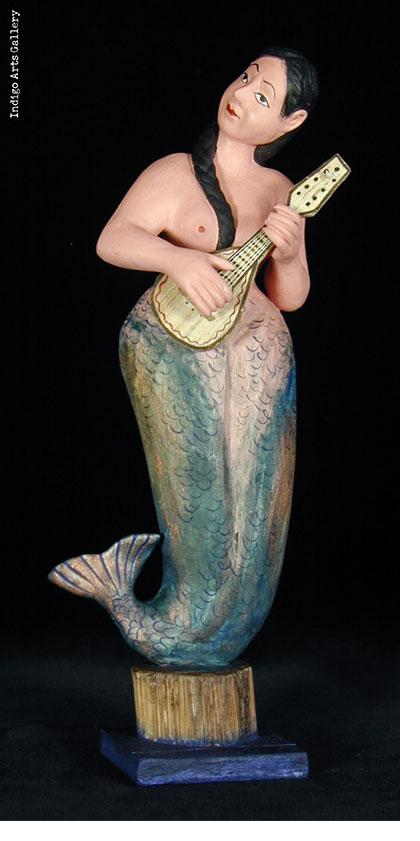 La Sirena con Guitarra - Santo