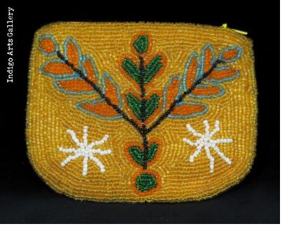 """Grand Bois"" Vévé Beaded Purse"