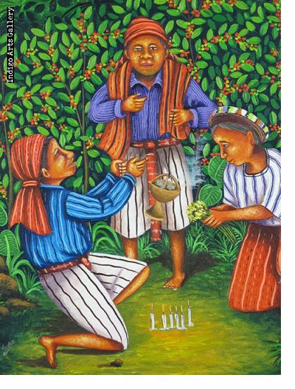 Ceremony at Coffee Harvest